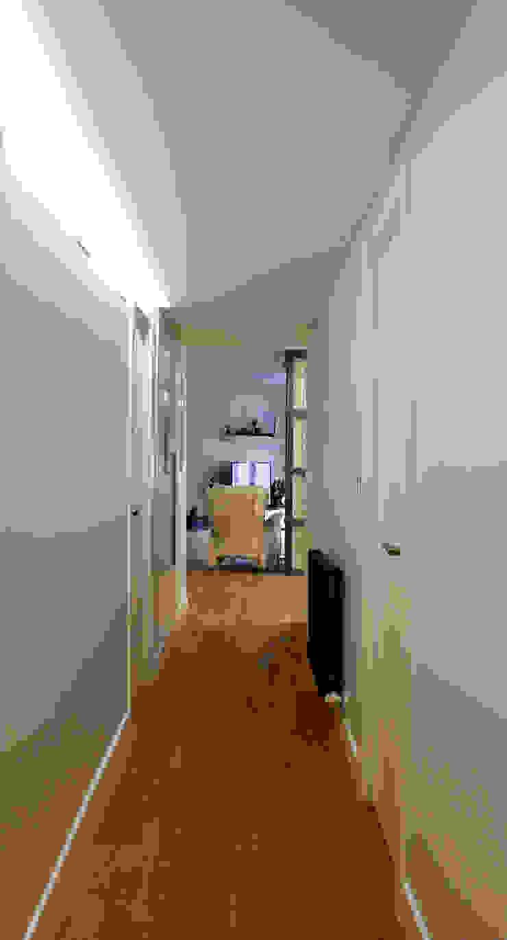 Vivienda Ciudades Pasillos, vestíbulos y escaleras de estilo moderno de Danma Design Moderno Madera Acabado en madera
