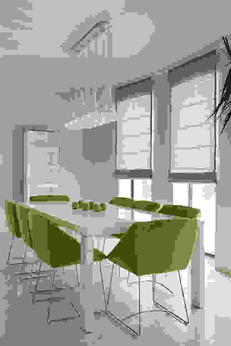 Salle à manger minimaliste par Анна и Станислав Макеевы Minimaliste