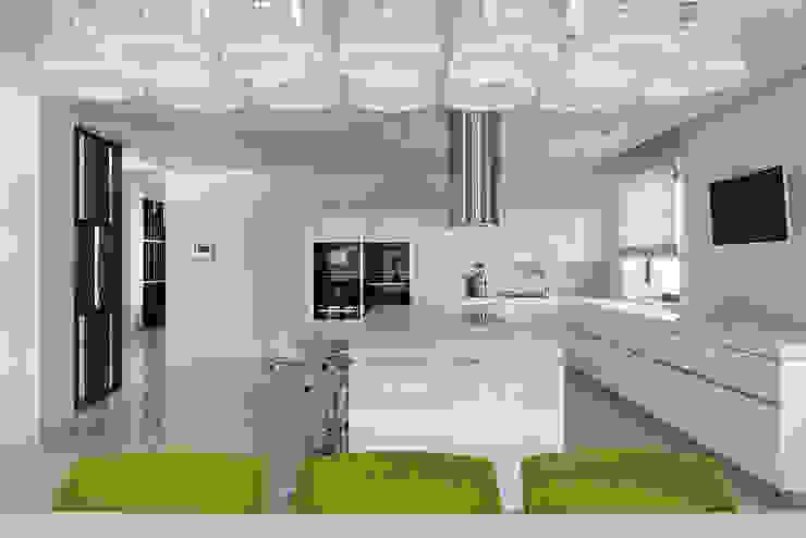 blue sky Кухня в стиле минимализм от Анна и Станислав Макеевы Минимализм