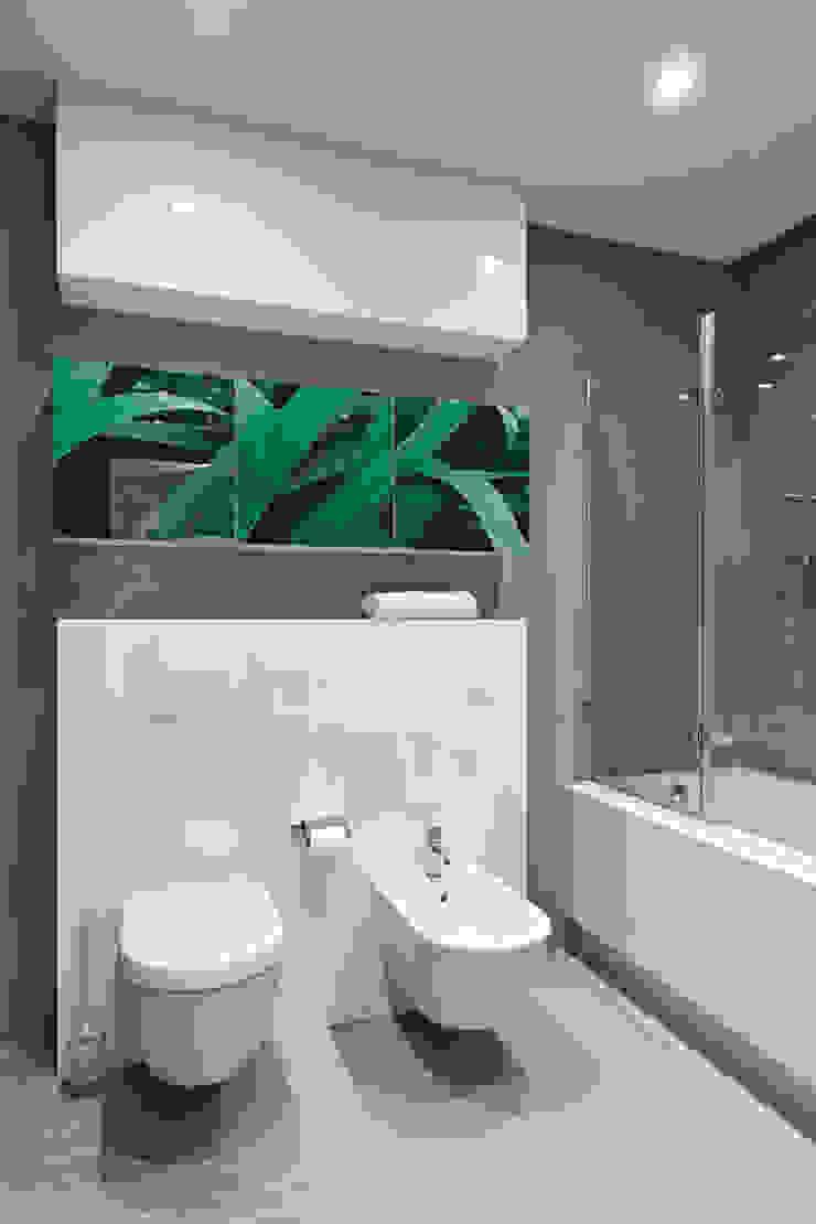 blue sky Ванная комната в стиле минимализм от Анна и Станислав Макеевы Минимализм