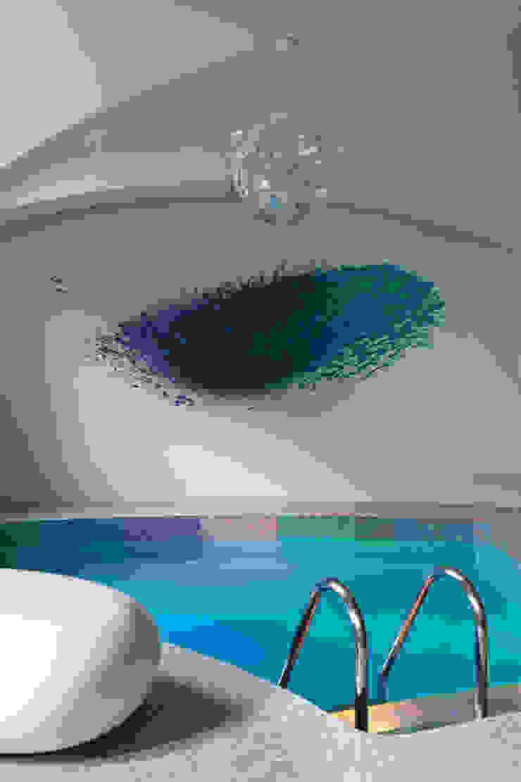 blue sky Бассейн в стиле минимализм от Анна и Станислав Макеевы Минимализм