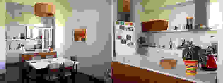 TEODORO GARCIA: Casas de estilo  por taller125,Moderno