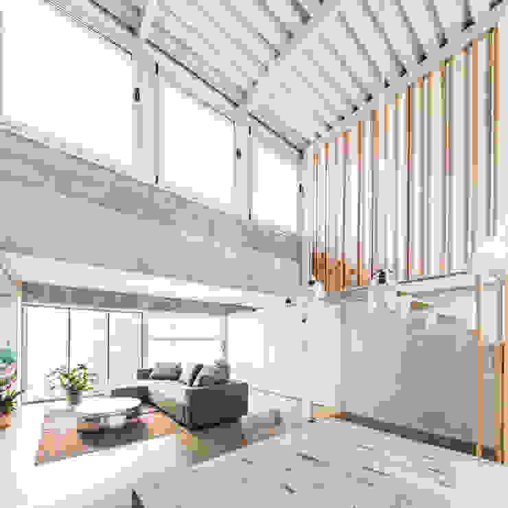 SAU-MIGDIA-HOUSE Salones de estilo moderno de Andres Flajszer Photography Moderno