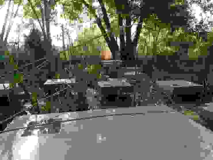 Recuperação de tanque junto a ribeira Jardins minimalistas por Atelier Jardins do Sul Minimalista