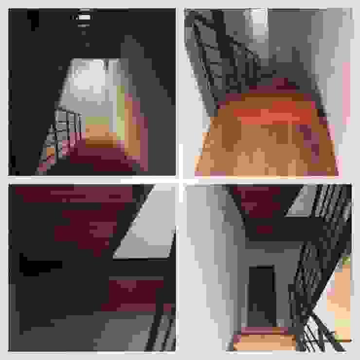 ห้องโถงทางเดินและบันไดสมัยใหม่ โดย Brarda Roda Arquitectos โมเดิร์น