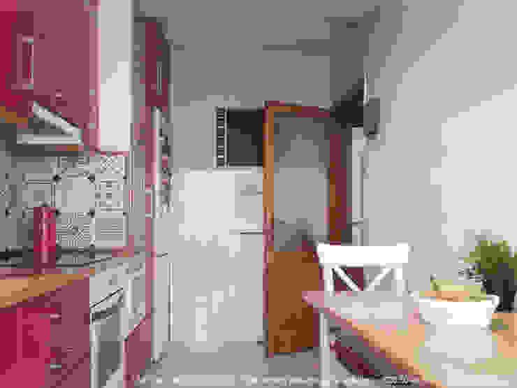 Reforma de cocina en Matogrande Cocinas modernas de UVE laboratorio de diseño Moderno