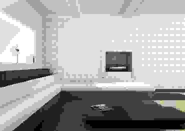 Waterlily Bas Relief Wallcovering by Kreoo 现代客厅設計點子、靈感 & 圖片 根據 Kreoo 現代風 大理石