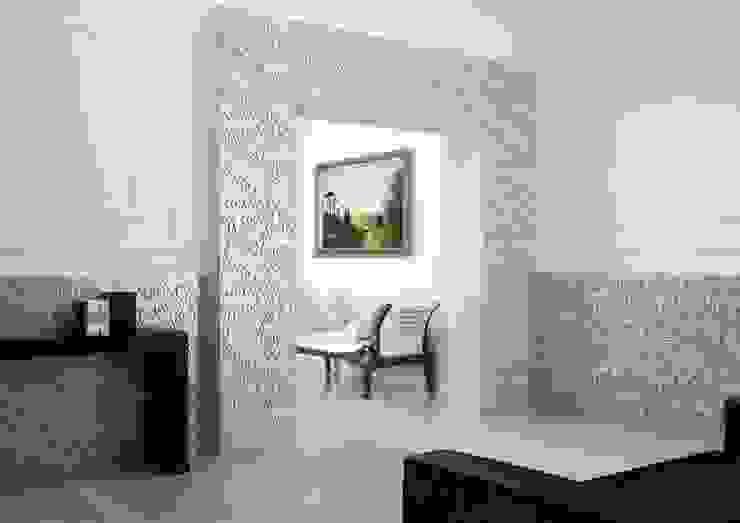 Fenice Bas-Relief wallcovering by Kreoo 根據 Kreoo 古典風 大理石