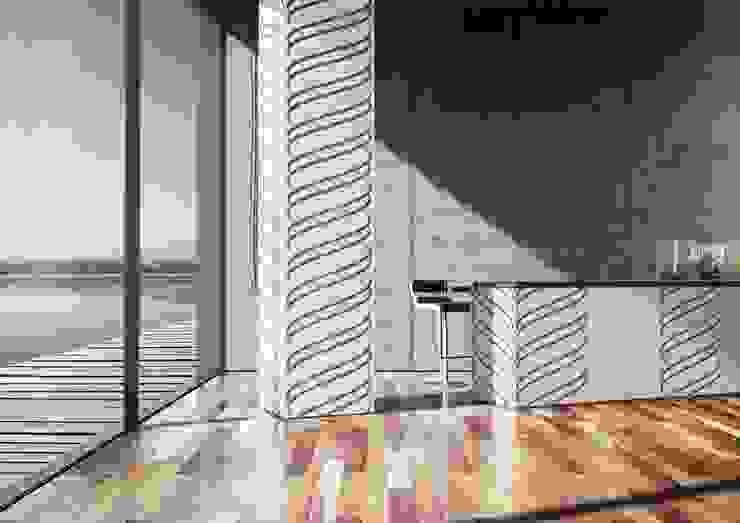 Kitchen Wallcovering 現代廚房設計點子、靈感&圖片 根據 Kreoo 現代風 大理石