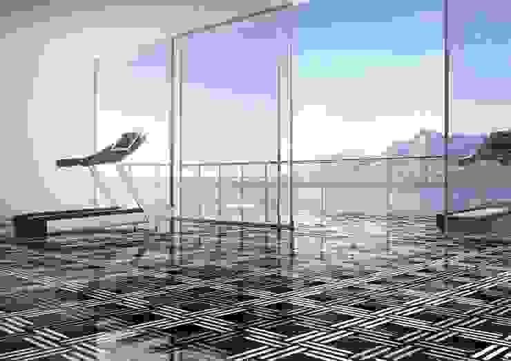 Weave Inlay Flooricovering by Kreoo 根據 Kreoo 現代風 大理石