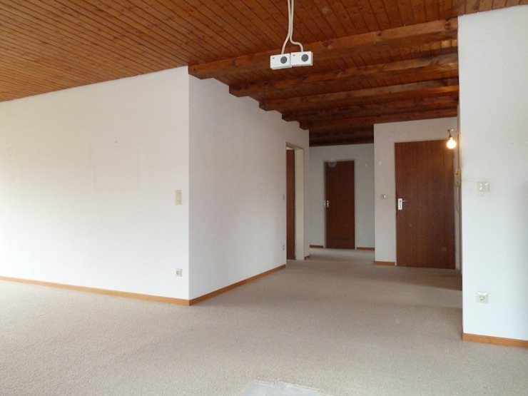 Renovierung Fang Interior Design Modern Corridor, Hallway and Staircase