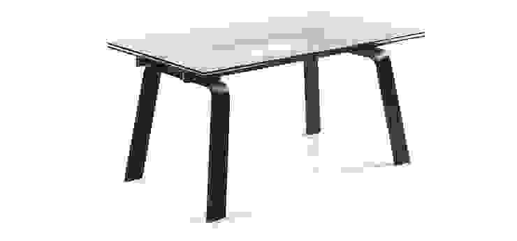 Mesas de refeições de vidro extensíveis Extendable glass dining tables por Intense mobiliário e interiores; Moderno