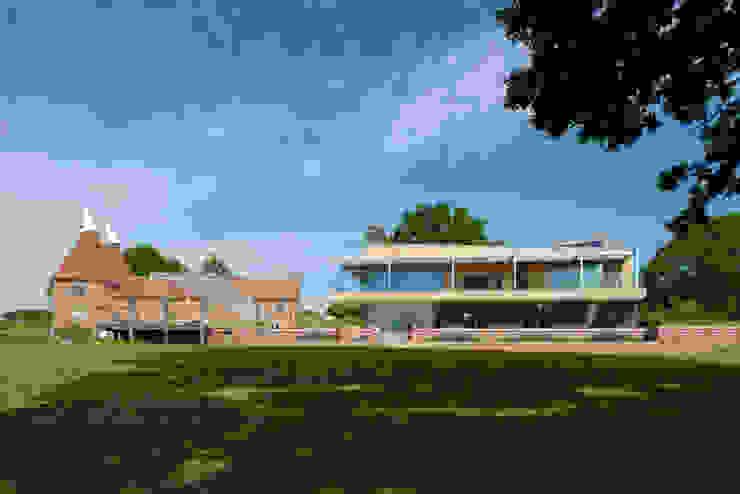 Little England Farm - House Дома в стиле модерн от BBM Sustainable Design Limited Модерн