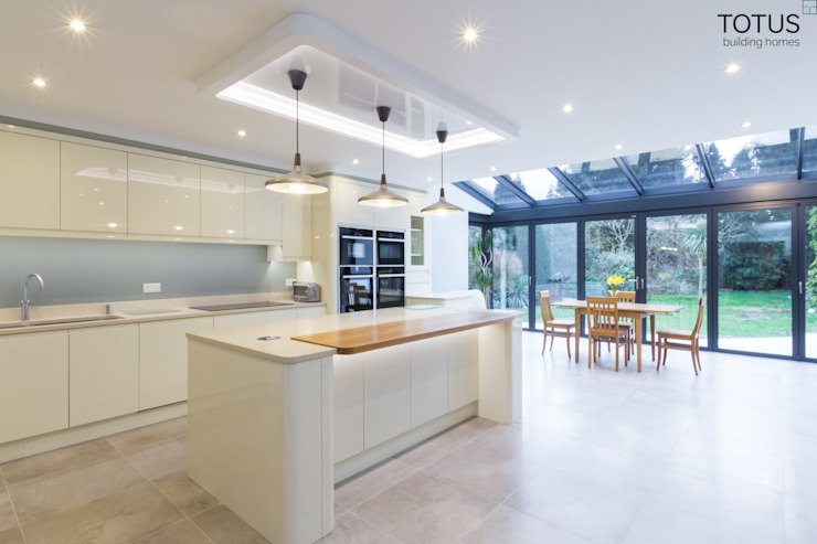 ​A Classic Country Home For The Modern Age Modern kitchen by TOTUS Modern