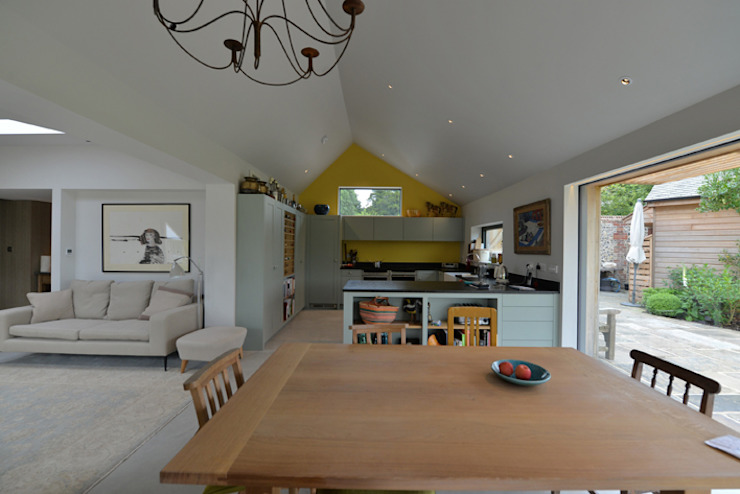 Eton Cottage Modern kitchen by BBM Sustainable Design Limited Modern