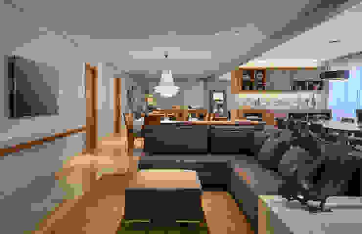 Estar - Home Salas de jantar modernas por Juliana Goulart Arquitetura e Design de Interiores Moderno
