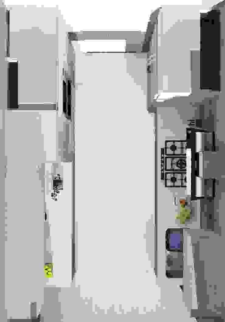 Cocinas modernas: Ideas, imágenes y decoración de ARCE FLORIDA Moderno Madera Acabado en madera