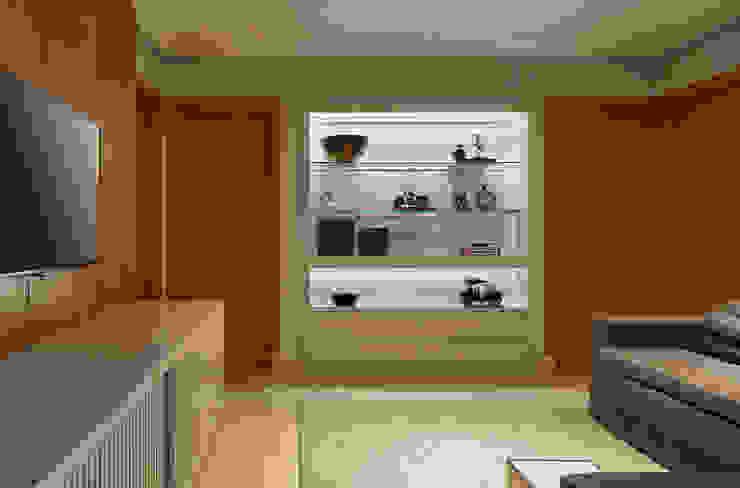 Estar intimo - TV Salas multimídia modernas por Juliana Goulart Arquitetura e Design de Interiores Moderno