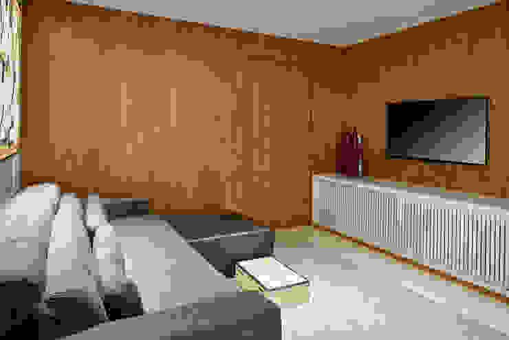 Estar Intimo- Tv Salas multimídia modernas por Juliana Goulart Arquitetura e Design de Interiores Moderno