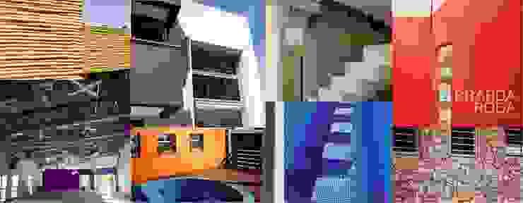 Modern houses by Brarda Roda Arquitectos Modern