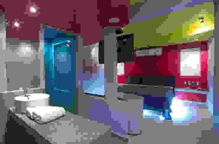 Hotel Condesa de Malibrán Dormitorios modernos de DIN Interiorismo Moderno