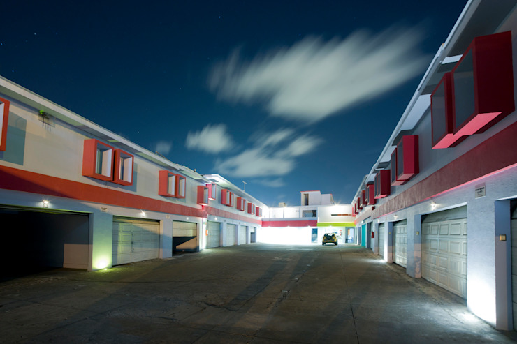 Hotel Condesa de Malibrán Garajes modernos de DIN Interiorismo Moderno