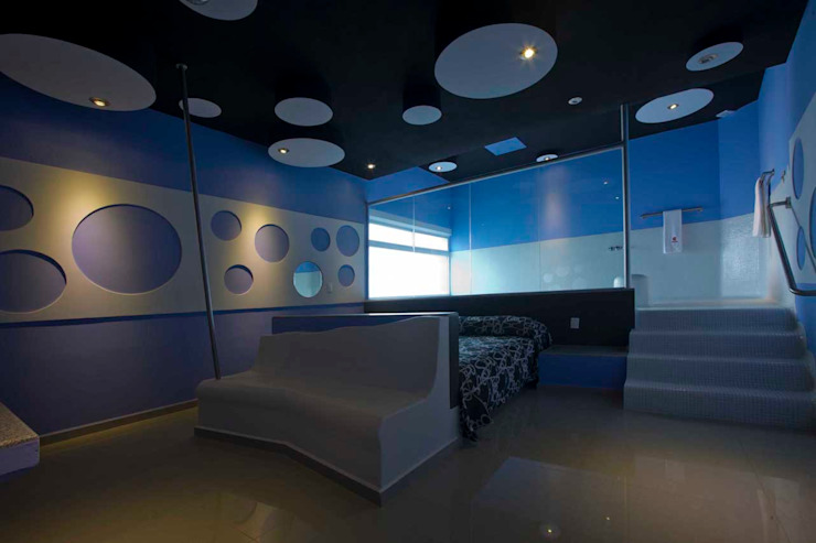 Hotel Ke Color Dormitorios modernos de DIN Interiorismo Moderno