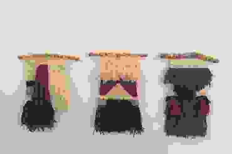 Tapices colección otoño/invierno de Meublé Rural Lana Naranja
