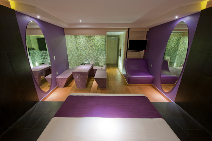Hotel MaxIntimo Dormitorios modernos de DIN Interiorismo Moderno