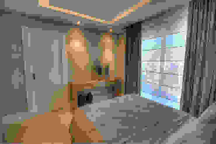 غرفة نوم تنفيذ Pauline Kubiak Arquitetura
