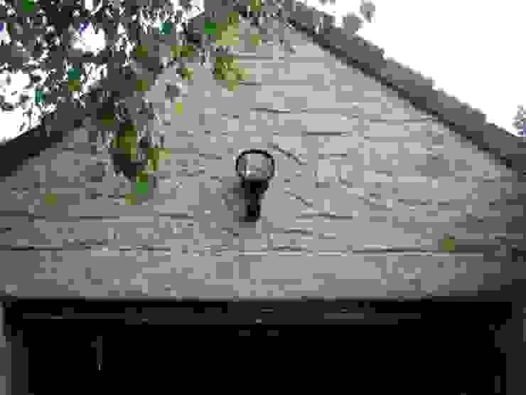 LuisyAnacb 花園柵欄與牆 石灰岩 Beige
