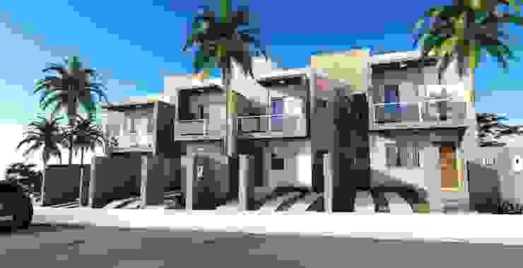 COLINAS 3 Casas modernas por Valente Arquitetura & Construção Moderno Tijolo