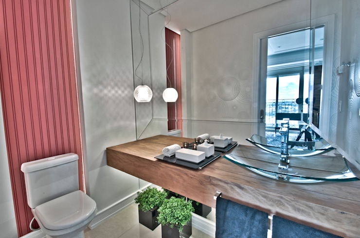Pauline Kubiak Arquitetura Baños de estilo moderno