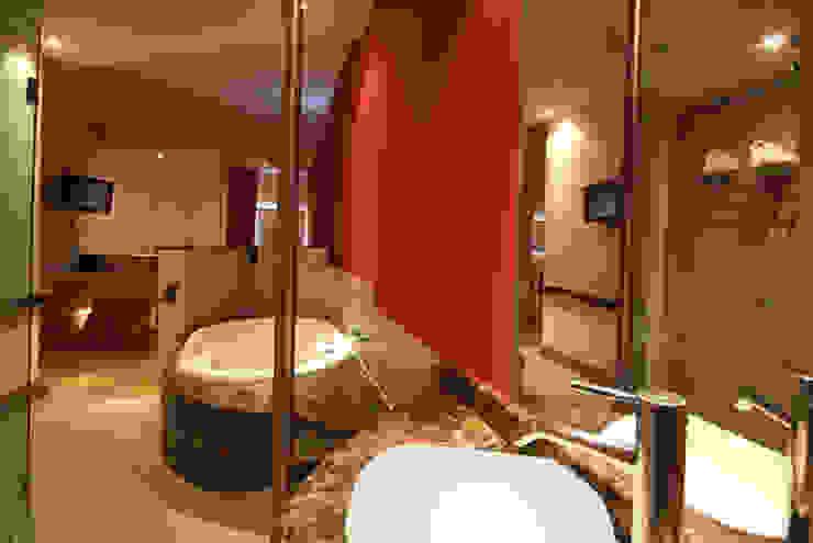 Hotel Sens Baños modernos de DIN Interiorismo Moderno
