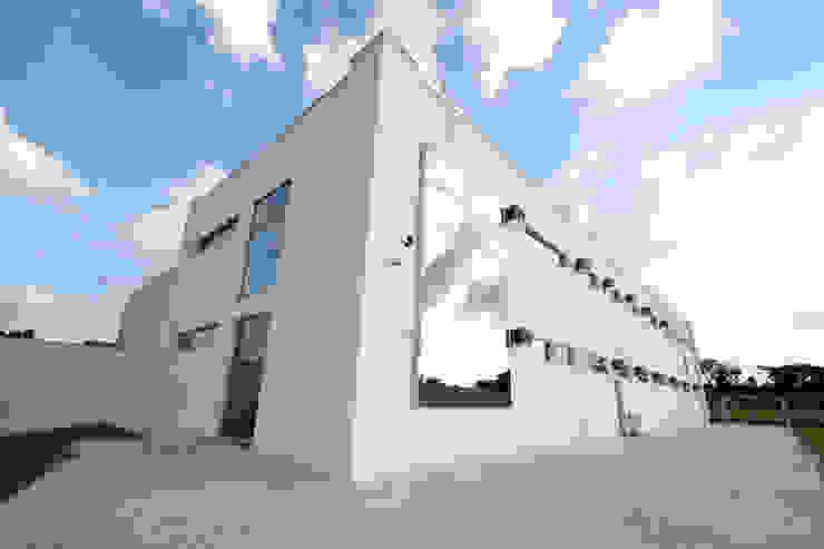Fachada Edifícios comerciais modernos por Habitat Arquitetos Moderno