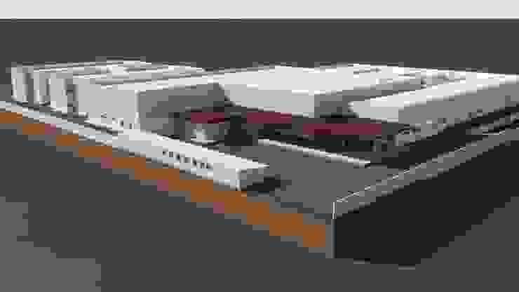 Vista Aérea Hospitais modernos por Habitat Arquitetos Moderno