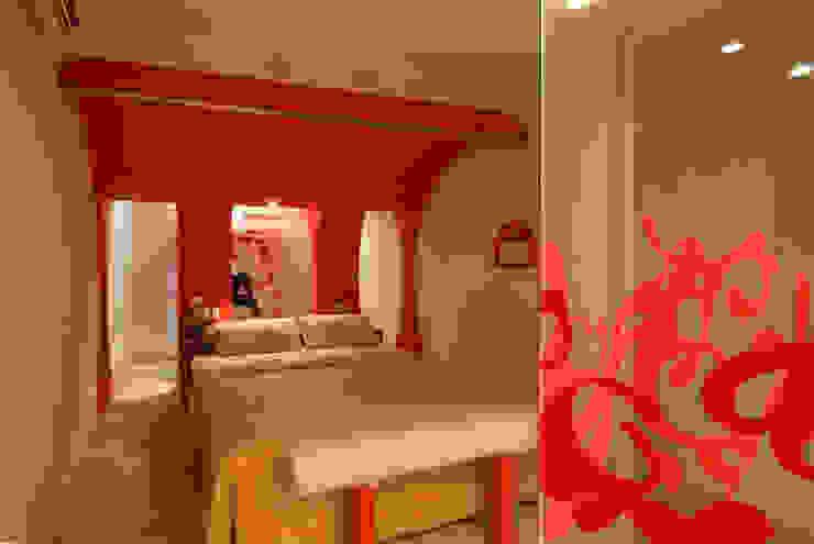 Hotel Aquz Dormitorios modernos de DIN Interiorismo Moderno