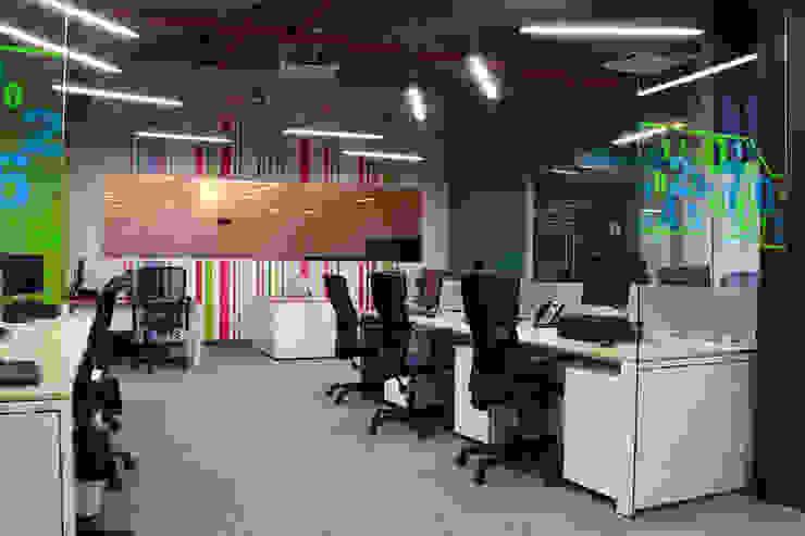 Barrilito Estudios y despachos modernos de DIN Interiorismo Moderno