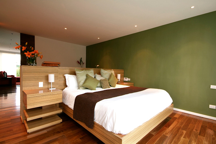Modern Yatak Odası DIN Interiorismo Modern