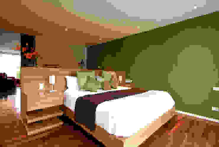 Modern Bedroom by DIN Interiorismo Modern