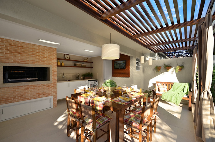 Patios & Decks by Stefani Arquitetura,
