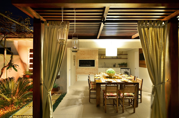 Stefani Arquitetura Dining roomAccessories & decoration Wood Wood effect