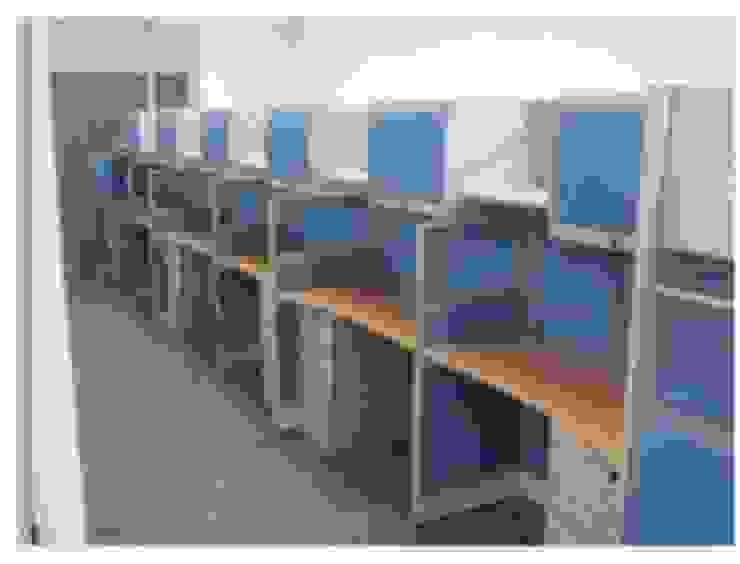 Mobiliario Constructora G-9 Oficinas de estilo moderno