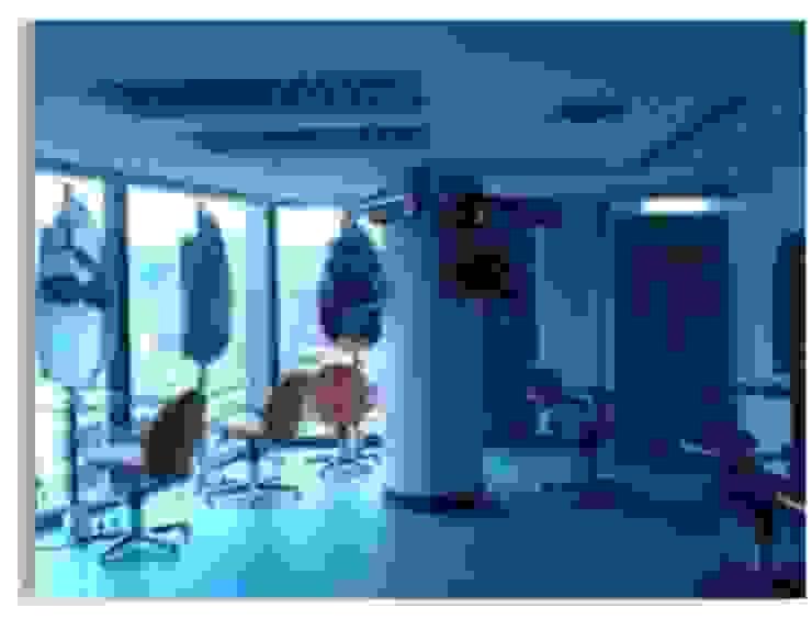 Salón de talleres de peluqueria y estilistas Constructora G-9 Oficinas de estilo moderno