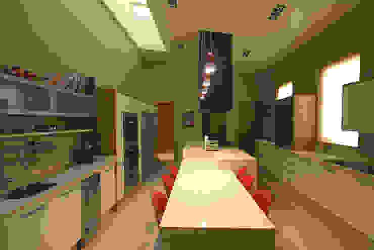 Casa Moro Comedores modernos de DIN Interiorismo Moderno