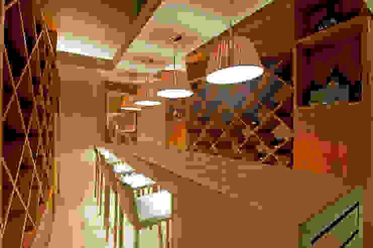Casa Ulpi Comedores modernos de DIN Interiorismo Moderno