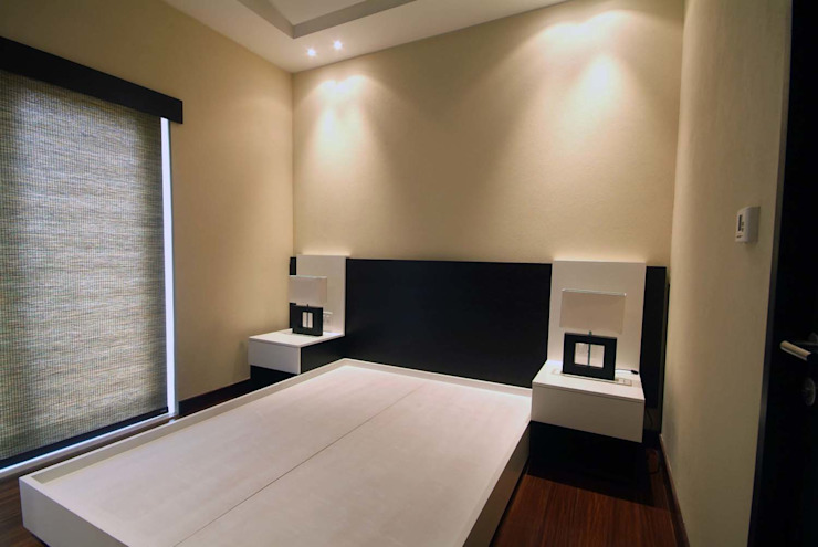 Departamento Jomap Dormitorios modernos de DIN Interiorismo Moderno