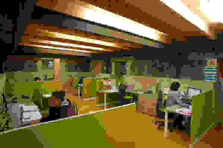 Ibby México Estudios y despachos modernos de DIN Interiorismo Moderno