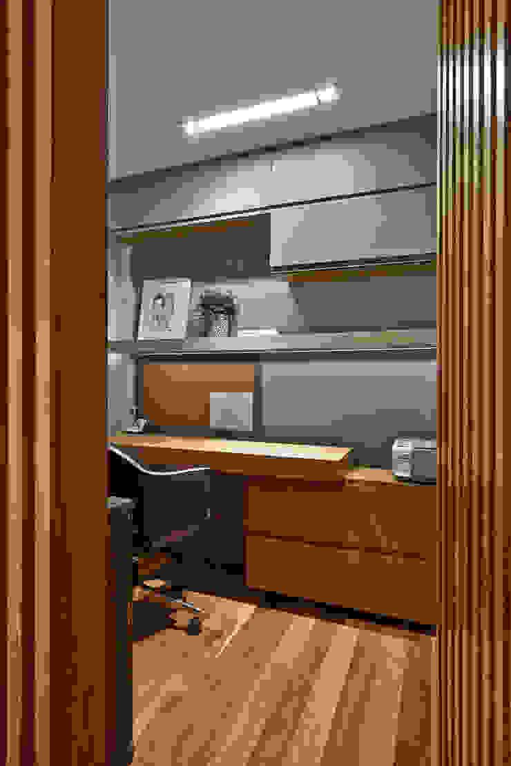 Home Office Escritórios modernos por Juliana Goulart Arquitetura e Design de Interiores Moderno