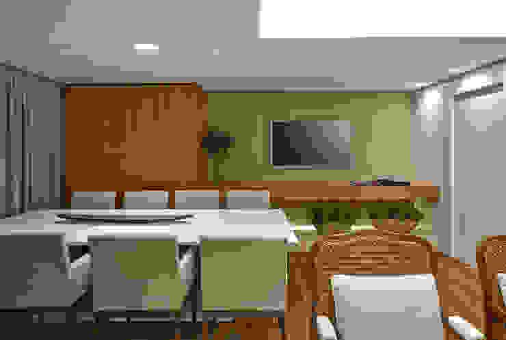 SALA DE JANTAR Salas de estar modernas por Juliana Goulart Arquitetura e Design de Interiores Moderno